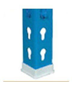 Pie angulo estanteria perfil p40  40x40mm gris plastico mo simonrack