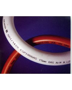 Tubo conduccion gas natural flexible 15x22mm mo espiroflex