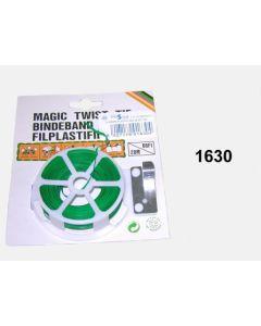 Alambre plastificado 20mt verde busor acero 1630