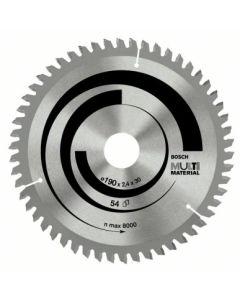 Disco corte aluminio 42 dientes 160x2,4x16 mm widia bosch