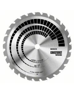 Disco corte general obra 20 dientes 315x3,2x30 mm widia bosch