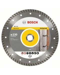 Disco corte general obra turbo 115x22,2 mm upe-t bosch 2608602393