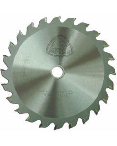 Disco corte madera 24 dientes 150x2,4x20 mm widia stayer