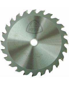 Disco corte madera 24 dientes 160x2,4x20 mm widia stayer