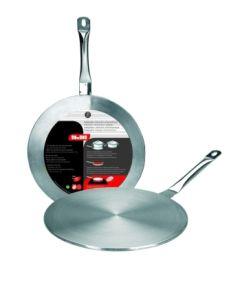 Placa cocina difusora vitro-induccion 14cm acero inox ibili
