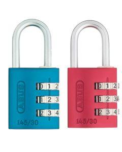 Candado seguridad combinacion programable 20mm azul abus 145/20azul