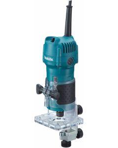 Fresadora electrica profesional 530w 06 mm 3709 makita