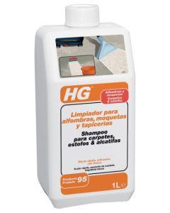 Limpiador alfombras moquetas tapicerias 1 lt hg