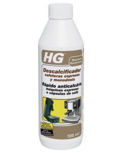 Descalcificador limpieza aparatos vapor cafeteras express 500 ml hg