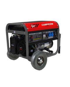 Generador gasolina 13 cv 5,5kva 25lt monofasico mk6500 campeon