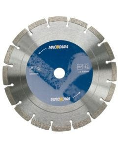 Disco corte general obra 230x2x10 mm macodiam ma32t-230