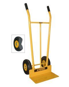 Carretilla almacen pala 350x450x3mm rueda impinchable acero ayerbe 580472