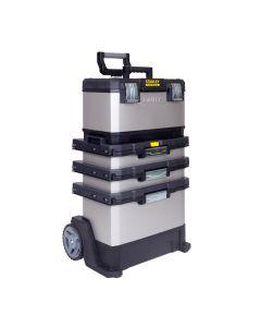Carro herramientas taller movil modular 568x893x389mm metal-resina fatmax stanley