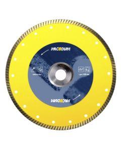 Disco corte porcelanico banda continua turbo 230x1,8x8mm macodiam ma68p-230