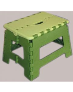 Taburete multiusos polipropileno escalin verde vervi