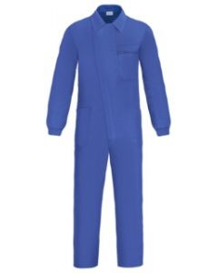 Mono trabajo con tapeta cremallera t56 tergal azul l500 vesin