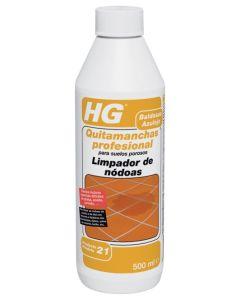 Quitamanchas aceite hormigon 500 ml hg