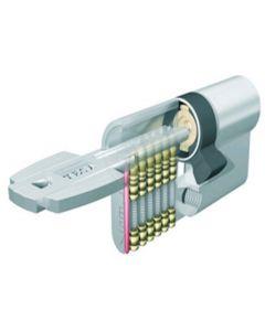 Cilindro seguridad leva larga 30x40mm laton t6553040l tesa t6553040l