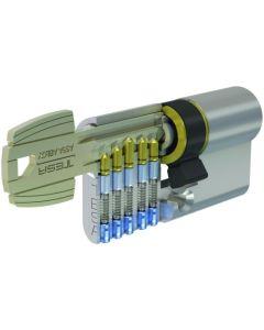 Cilindro leva corta 30x30mm niquel 52003030n tesa 52003030n