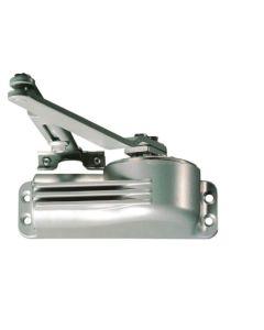 Cierrapuertas brazo retenedor plata 44-at-50 telesco