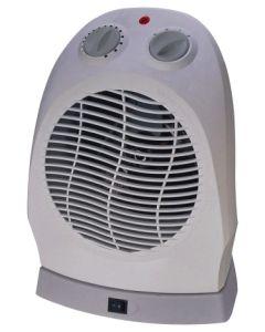 Calefactor electrico vertical oscilante 1000/2000w vivahogar