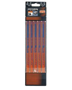 Hoja sierra mano 300mm 24dpp bahco sandflex ma metal d4 5 pz 3906-300-24-5p