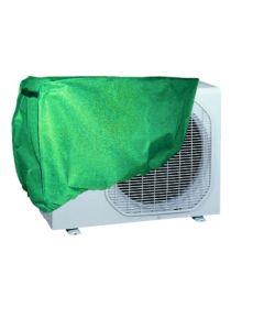 Funda proteccion aire acondicionado ajustable 90x55x30cm pvc verde natuur nt79368