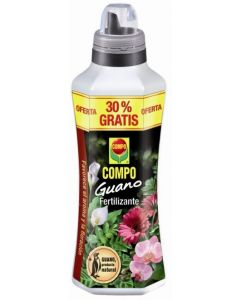 Abono plantas liquido guano 1,3 lt compo