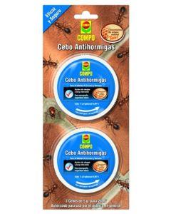 Cebo hormigas 2 pz compo 2226502011