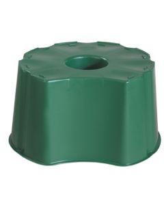 Base recuperacion agua contenedor redondo 210 lt polipropileno graf 502001