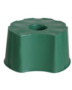 Base recuperacion agua contenedor redondo 310 lt polipropileno graf 502002