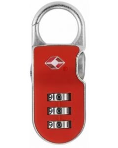 Candado seguridad combinacion sistema tsa viajar usa rojo yale ytp2/26/216/1