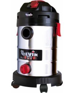 Aspirador seco / liquidos 1.250w 30lt cevik
