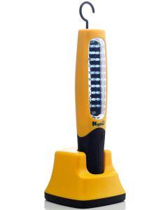 Lampara taller portatil recargable 90lm 30 leds kapital  kl30rwl