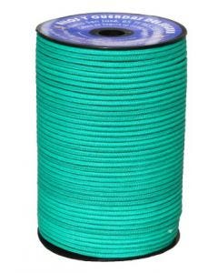 Cuerda fijacion trenzada 05mm 200 mt polietileno verde hyc 2106050200