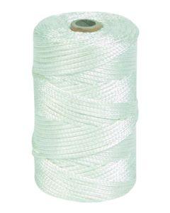 Hilo sujecion atirantar trenzado 02mm 4 bobinas 400 mt nylon blanco hyc 5500410100-p4 80484