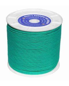 Cuerda fijacion trenzada 05mm 400 mt polietileno verde hyc 2106050400