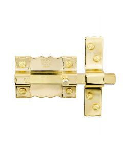 Pasador sobreponer sin llave dorado 300p/87 fac 12102