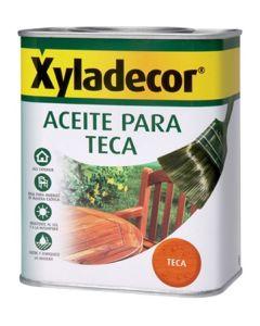 Aceite teca protector  750 ml teca xyladecor