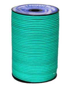 Cuerda fijacion trenzada 06mm 200 mt polietileno verde hyc 2106060200