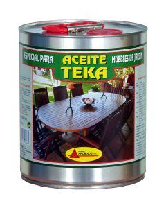 Aceite teca protector  4 lt incoloro promade