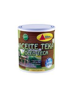 Aceite teca protector al agua  750 ml incoloro promade