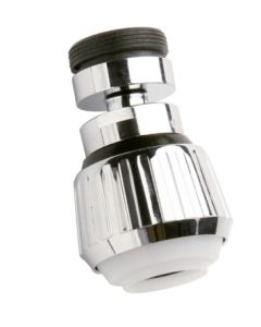 Atomizador grifo ahorro 50% rotula 2 posiciones ahorro 9lt minuto h22-m24 cromo aqcontrol rc-145.2.00