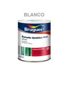Esmalte sintetico mate interior 250 ml blanco bruguer 26260203