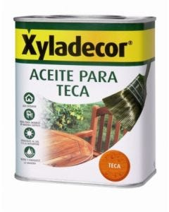 Aceite teca protector  5 lt teca xyladecor