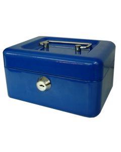 Caja alhajas sin pulsador 152x115x80mm azul n.1 btv