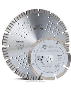 Disco corte multimaterial 230 mm-115 mm oscar diamant 2 pz 14.408