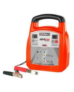 Cargador bateria automovil automatico 12/24v baterias 120amp 016a novacar solter