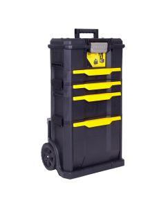 Carro herramientas taller movil modular 866x348x488mm polipropileno rws3-1 stanl