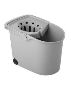 Cubo agua con escurridor tatay gris rectangular 1103206
